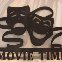 Movie Time Home Theater Wall Hanging