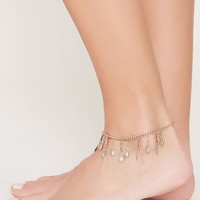 Geo-Shaped Anklet | Forever 21 - 1000160386