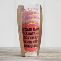 Create Your Own Sunshine Acrylic Cup Set