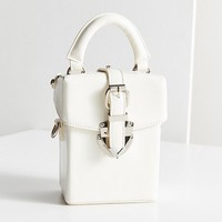 Maud Structured Mini Crossbody Bag   Urban Outfitters
