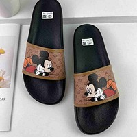 GG summer fashion all-match non-slip slippers shoes
