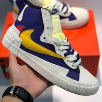 Nike Blazer x Sacai cheap Men's and women's nike shoes