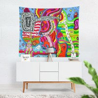 Wall Art Tapestry 'Multi-directional'
