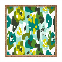 Heather Dutton Painted Camo Square Tray