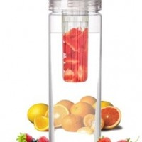 Infuser Water Bottle 27 Ounce - Updated for 2015! - FREE Recipe Booklet with Order* - Made of Eastman TritanTM - Create Your Own Flavored Water, Naturally, with Ingredients YOU Select | The Fun & Healthy Way to Enjoy Your Daily Water.