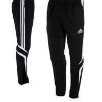 NWT Adidas Soccer Tiro Training Pants Black Small S Football Warm Up
