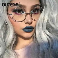 Retro Round Eyewear Clear Glasses Spectacles Optical Eye Glasses Frames For Women Transparent Eyeglasses Frame Fake Glasses