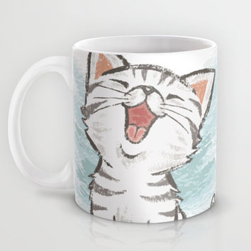 Cat Mug by Toru Sanogawa