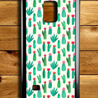 Cactus Cute Collage Samsung Galaxy Note 4 Case
