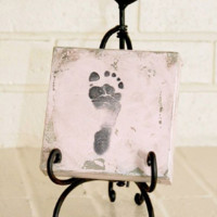 Baby's Footprint Stamp Kit - 6 Color Options