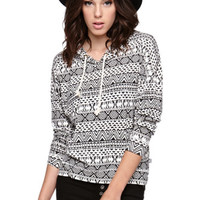 LA Hearts Long Sleeve Pullover Hooded Top at PacSun.com
