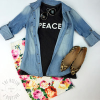 Chaser PEACE Muscle Tank