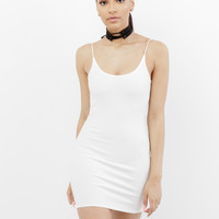 THE BAE MINI DRESS - WHITE