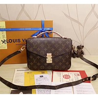 LV Louis Vuitton MONOGRAM CANVAS METIS HANDBAG SHOULDER BAG
