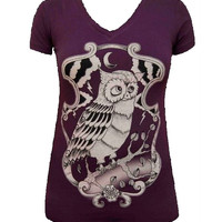 Night Owl V-Neck By Adi