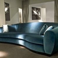 Upholstered fabric sofa TOBIA by Softhouse