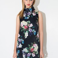 Blossom High Neck Dress