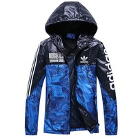 Tagre™ Trendsetter ADIDAS Women Men Cardigan Jacket Coat Windbreaker