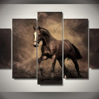 Horse Painting Canvas