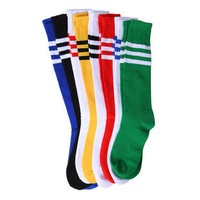 Men Long Stripe Socks