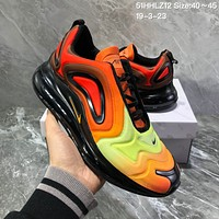 hcxx N1132 Nike Air Max 720 Inne Eye 2019 Fashion Comfortable Running Shoes Black Orange Yellow