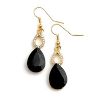 Fancy Teardrop Earrings
