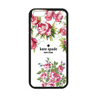 Cheap New Kate Spade Pink Rose Floral Hard Case Cover for iPhone 6/6s 6s Plus 7