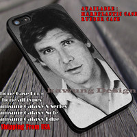 Harrison Ford | Starwars | Han Solo iPhone 6s 6 6s+ 6plus Cases Samsung Galaxy s5 s6 Edge+ NOTE 5 4 3 #movie #starwars ii
