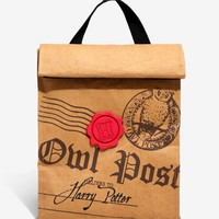 Harry Potter Owl Post Insulated Lunch Sack