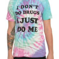 I Don't Do Drugs Tie Dye T-Shirt