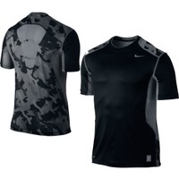 Nike Men's Fitted Hypercool Camo Fitted Compression Shirt