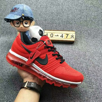 NIKE AIR MAX Fashion Sport Casual Shoes Sneakers red