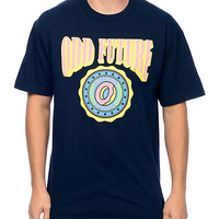 Odd Future Circle Donut Logo Navy T-Shirt