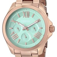 Fossil Women's AM4540 Cecile Multifunction Rose Gold-Tone Stainless Steel Watch