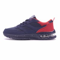 Joomra Brand Running Sport Shoes Lace-Up Sport Trainers EVA Size 39-45 Non-slip Bottom Net Surface Simple Outdoor Sneakers Men
