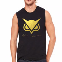 vanoss limited edition gold foil logo - Muscle Tank