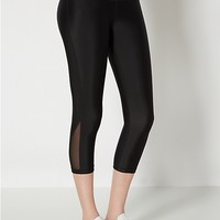 Black Compression Capri