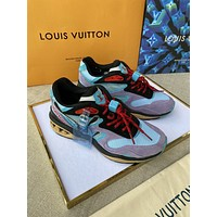 lv louis vuitton womans mens 2020 new fashion casual shoes sneaker sport running shoes 191