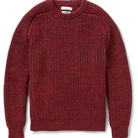 Richard James Wool and Cotton-Blend Sweater | MR PORTER