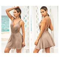 Mapale 4642 Dress Color Taupe