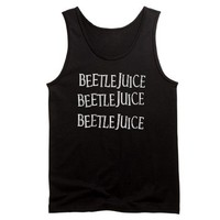 Beetlejuice Written Three times Tank Top on CafePress.com