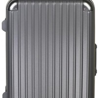 Ambassador Luggage Extra Duty Metal Frame Suitcase 20 inch Carry On