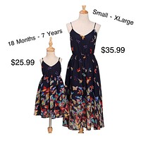 Mommy and Me Butterfly 🦋 Design Dresses
