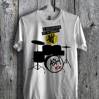 Ashton Irwin 5SOS Drum SetTee - zzzF Unisex Tees For Man And Woman / T-Shirts / Custom T-Shirts / Tee / T-Shirt