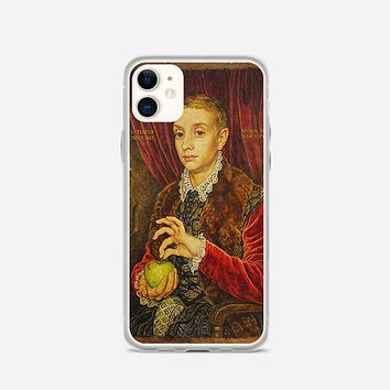 Boy With Apple Grand Budapest Hotel iPhone 11 Case