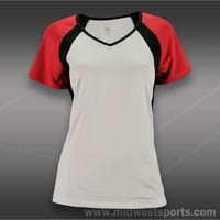 Tail Raglan Cap Sleeve Top