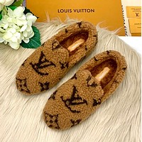 LV Lamb wool Lefu soybean wool shoes