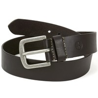 Timberland Mens Leather Belt Durable Classic Rugged Metal Buckle Sizes 32-42 New