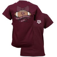 Southern Couture University of Texas A&M Aggies Vintage Football T-Shirt