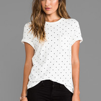 rag & bone/JEAN Graphic Pocket Tee in White from REVOLVEclothing.com